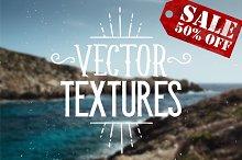 10 Vector Textures - 50% OFF