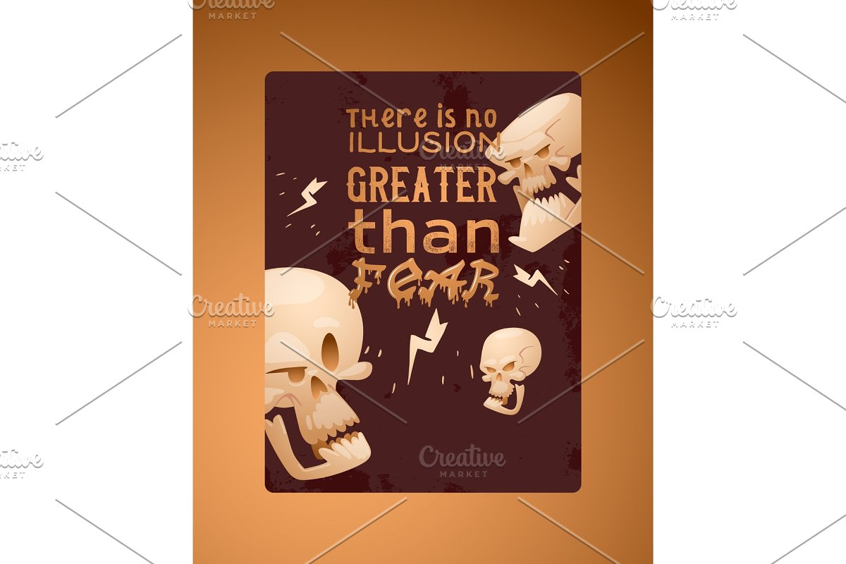 Skull pattern vector dead head