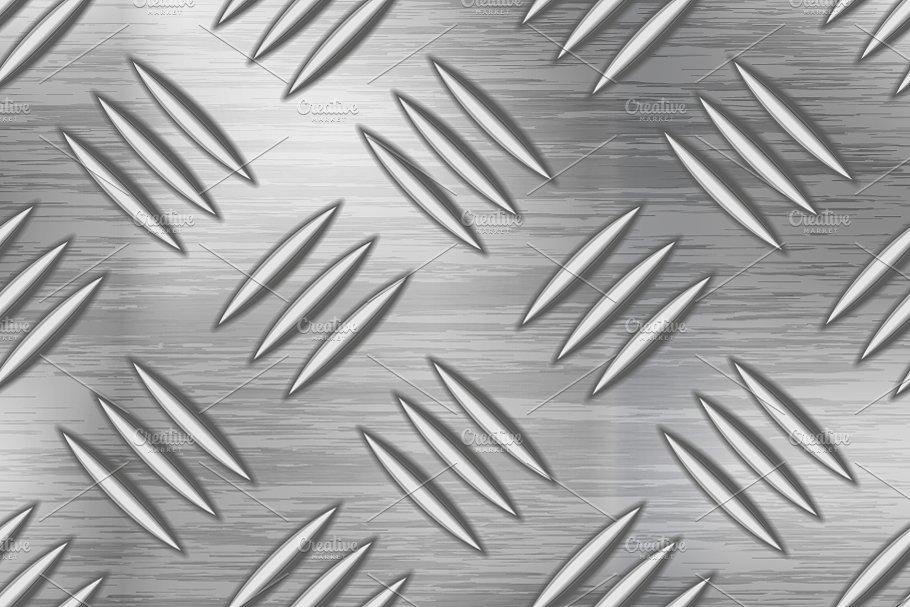 Industrial metal plate pattern