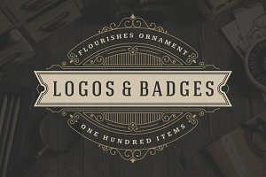 100 ornaments logos & monogram