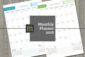 Monthly Planner 2016 (MP05)