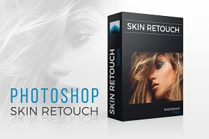 Skin Retouch Action Set