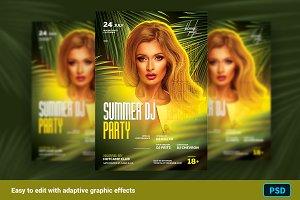 Summer DJ Flyer