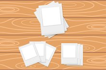 Photo frames collection in vector