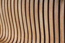Wave wood texture background by  in Abstract