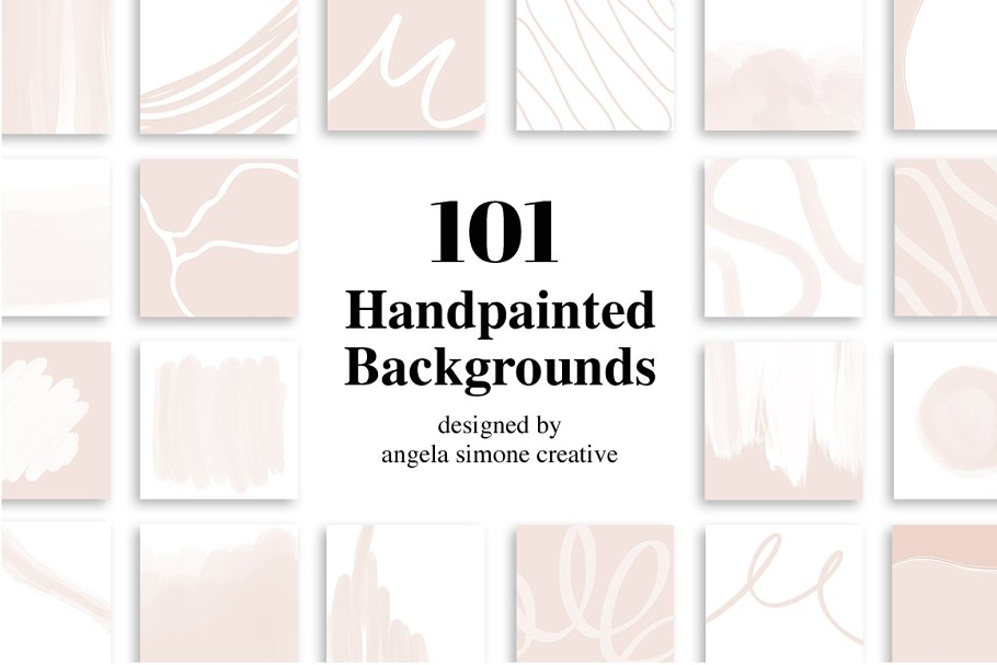 Modern Handpainted Backgrounds