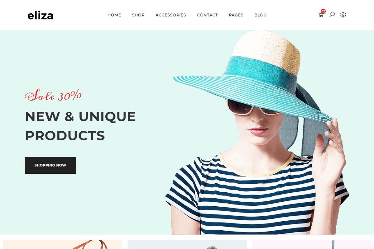 Eliza - eCommerce HTML Template