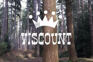 Viscount - Typeface