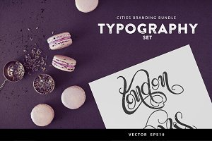 Cities Branding Bundle( vector&PNG)