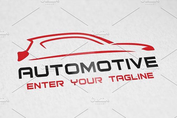 Automotive Logo Logo Templates Creative Market