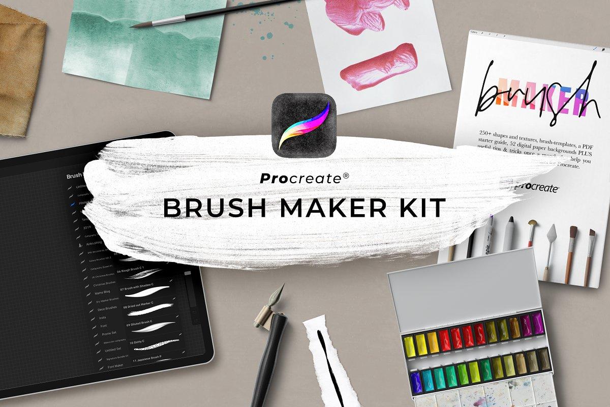 Procreate Brush Maker Kit ~ Procreate Brushes ~ Creative Market