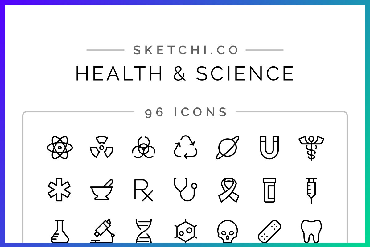 SALE! Health & Science Icons