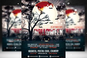 Halloween Flyer Template 2