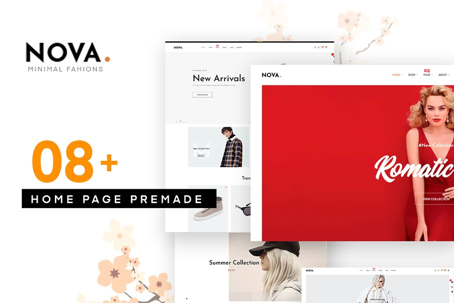 Nova Fashion Store Prestashop 1.7.5