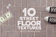 Street Floor Textures x10