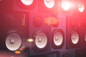 Speakers Wall