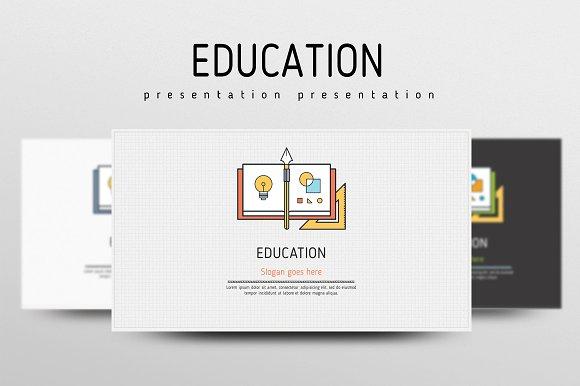 education presentation templates creative market