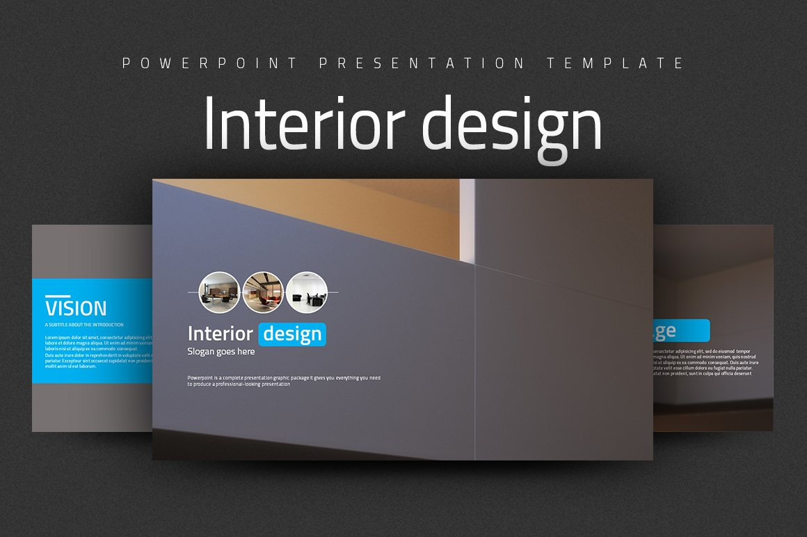 Interior design other presentation software templates - Interior design presentation layout ...