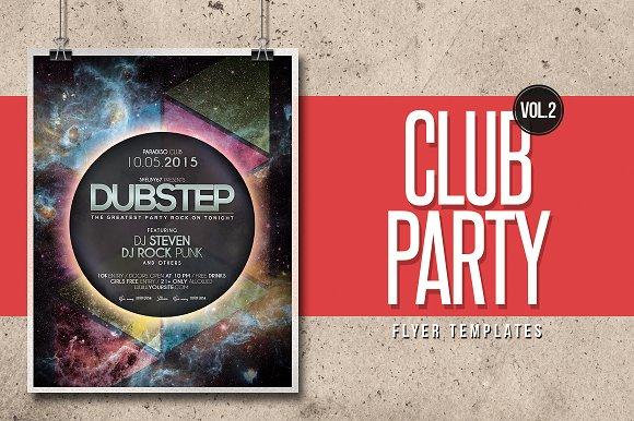 Club Party Flyer Templates Vol.2 - Flyers