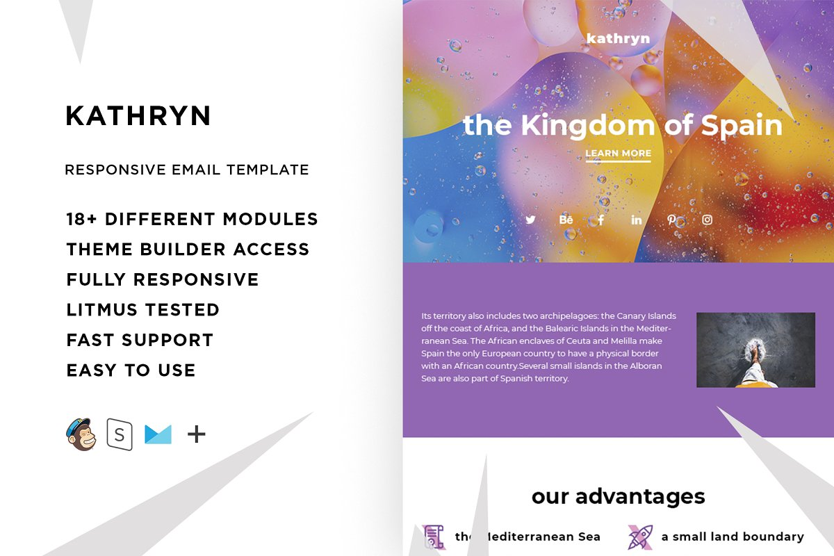 Kathryn – Responsive Email template