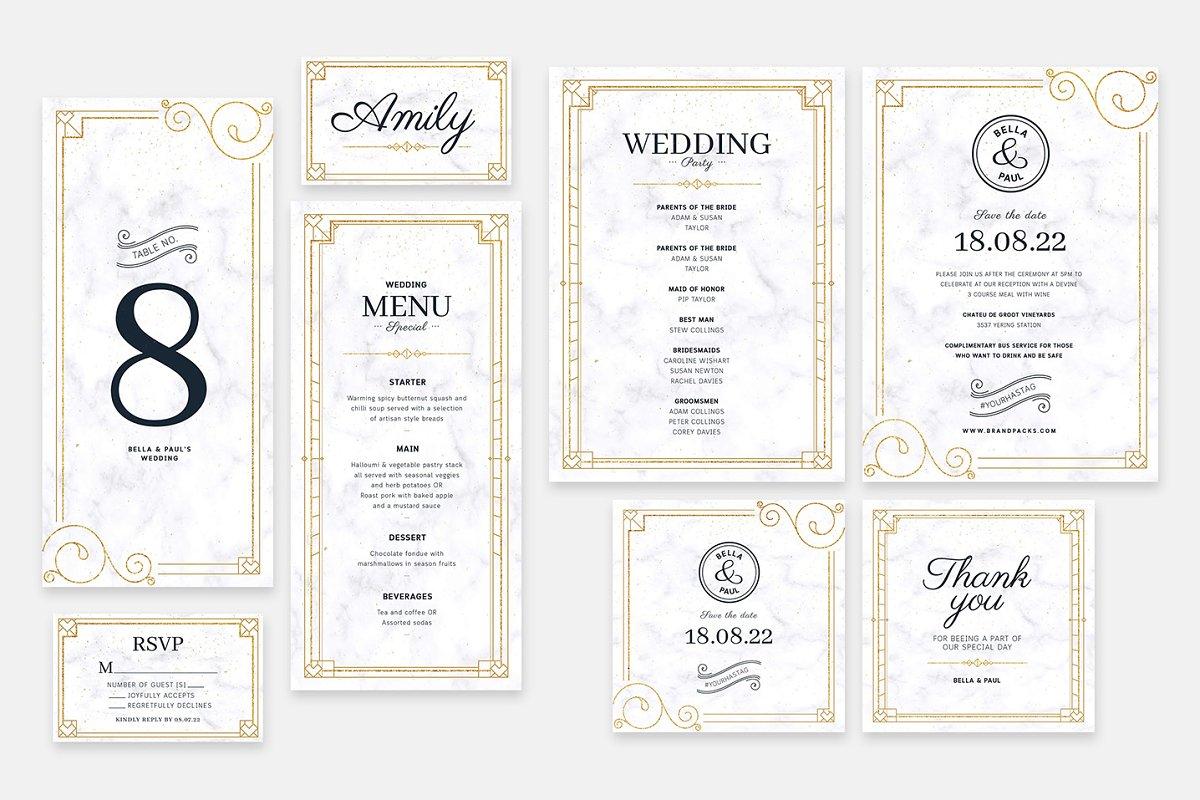 Wedding Invitation Templates | Creative Wedding Templates ...