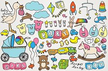 Baby & Baby Shower Clipart