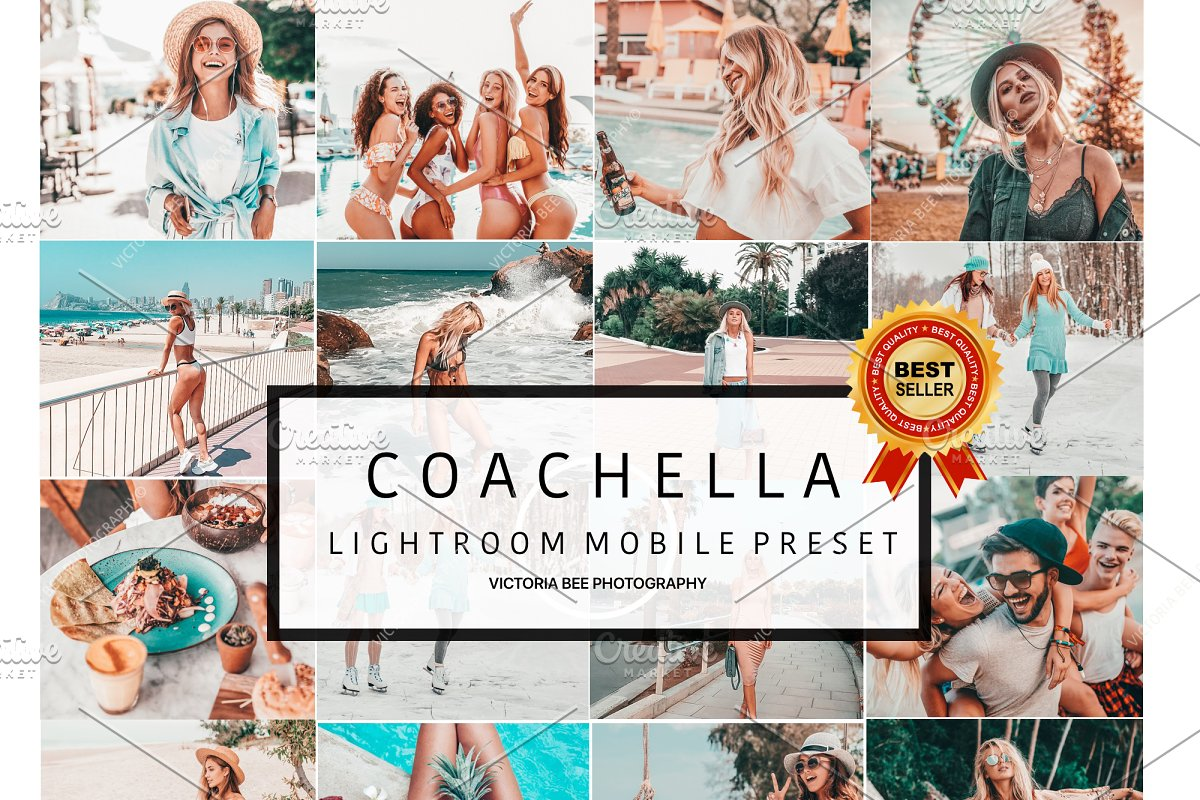 5 Mobile Presets COACHELLA ~ Other Design Software Add-Ons