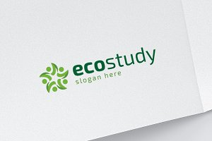Eco Study - Happy People Logo