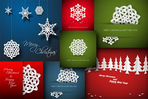 7 Christmas Card Templates