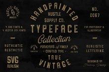 Vintage SVG Bundle & Logo Templates