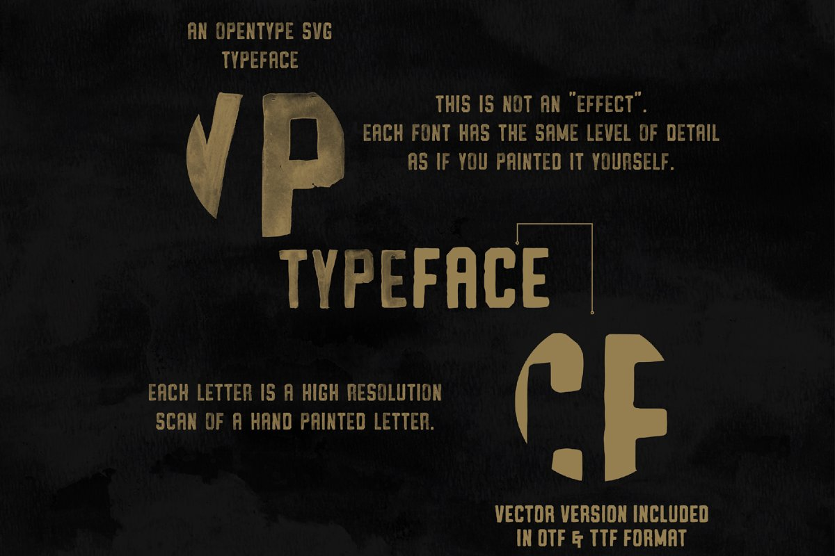 Vintage SVG Bundle & Logo Templates in Display Fonts - product preview 8