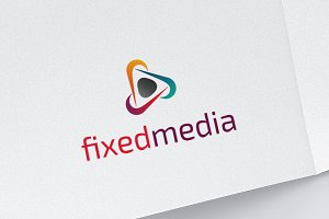 Fix Media - Play Multimedia Logo