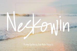 Neskowin Font + fun ligatures!
