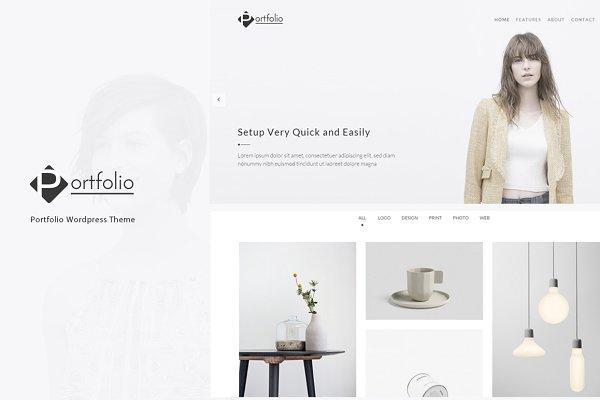 Portfolio - WordPress Theme