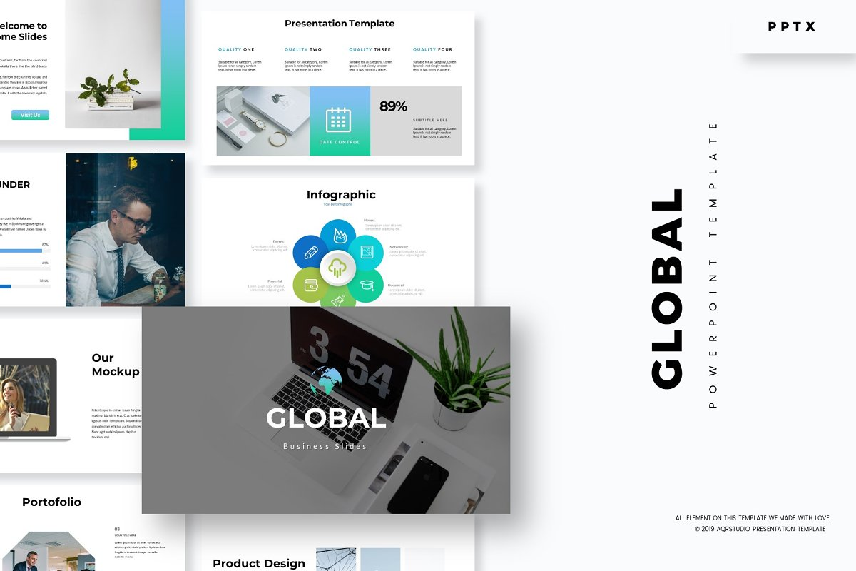 Global Powerpoint Template