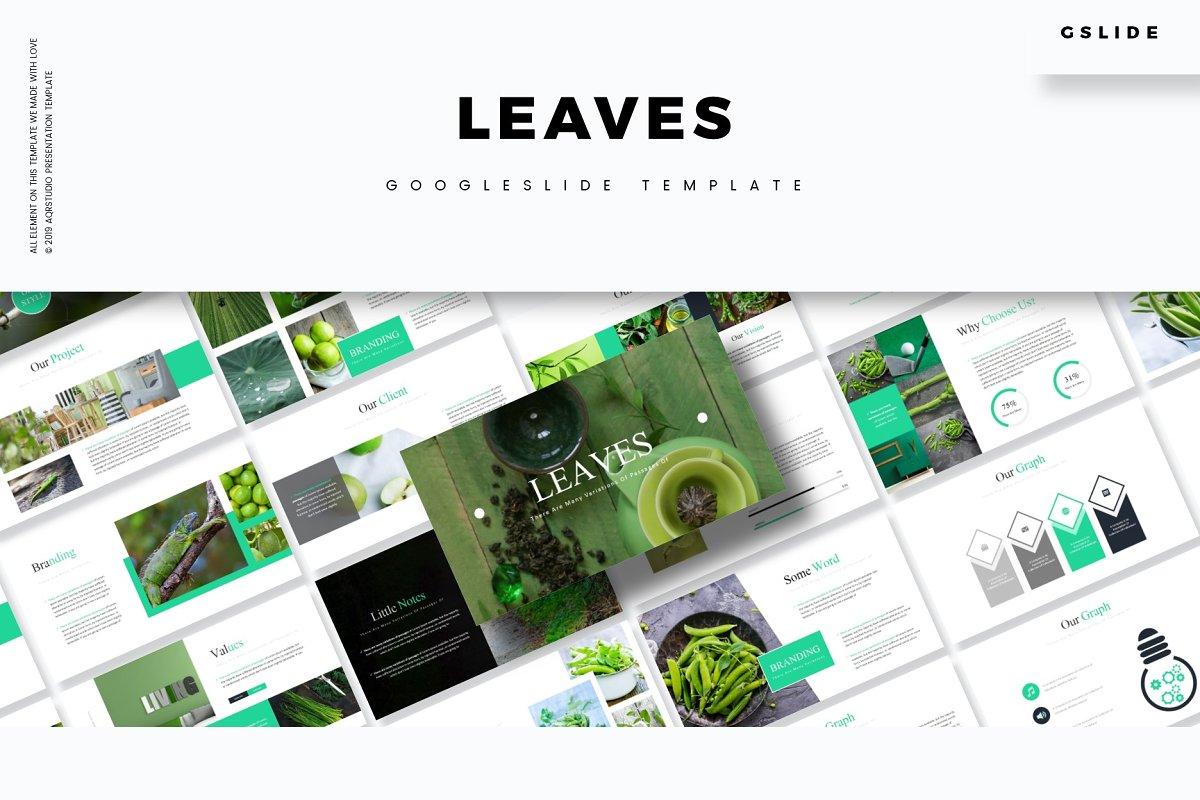Leaves - Google Slides Template
