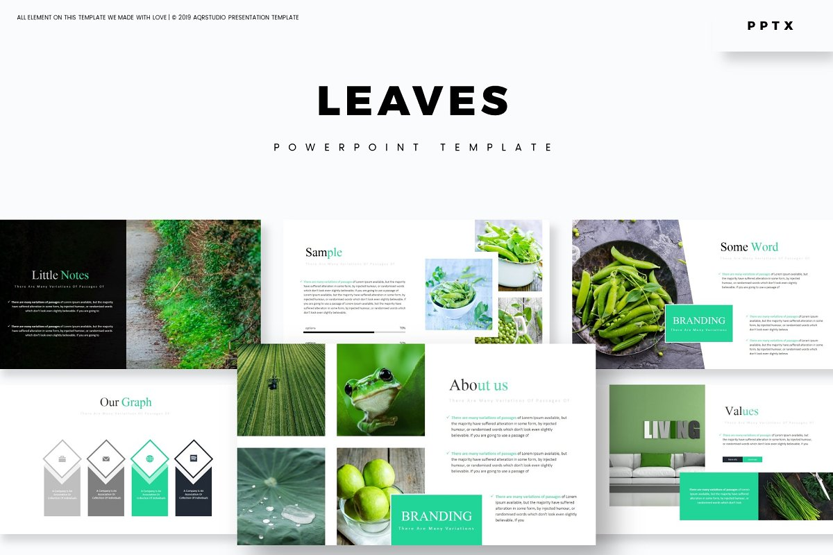 Leaves - Powerpoint Template