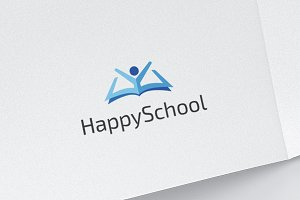 Happy School - Geek Book Logo