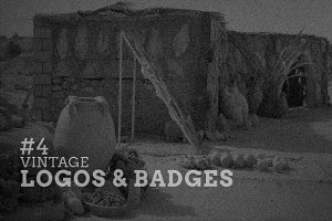Vintage Logos & Badges #4