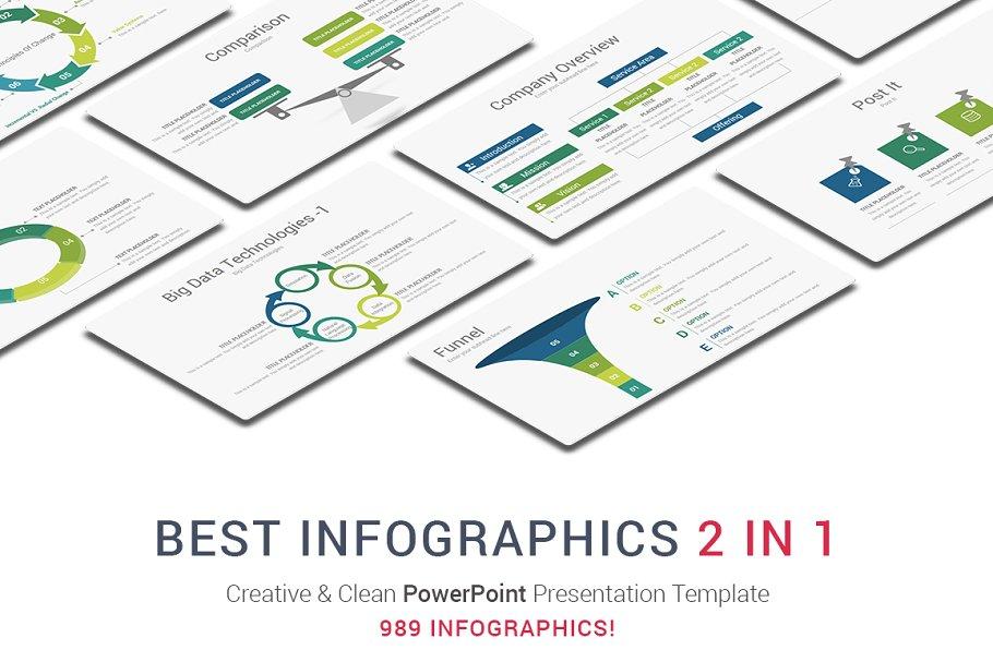 Best Infographics 2in1 Powerpoint