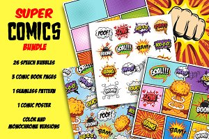 Super comics bundle