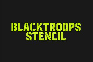 Blacktroops Stencil