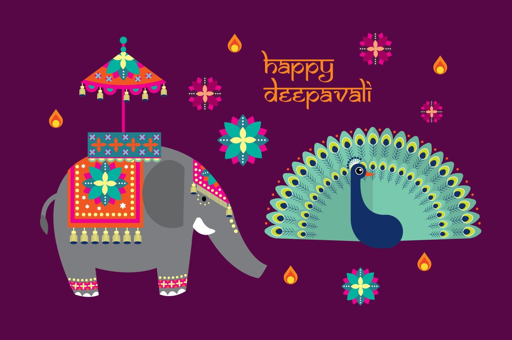 Diwali Photos, Graphics, Fonts, Themes, Templates ~ Creative Market