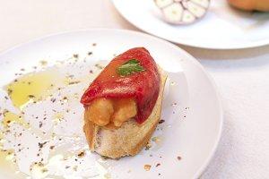 Stuffed piquillo pepper