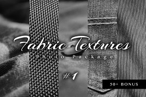 (SALE) Fabric Textures Photo Pack #1