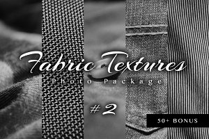 Fabric Textures Photo Pack #2