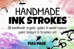 Handmade INK STROKES Full Pack