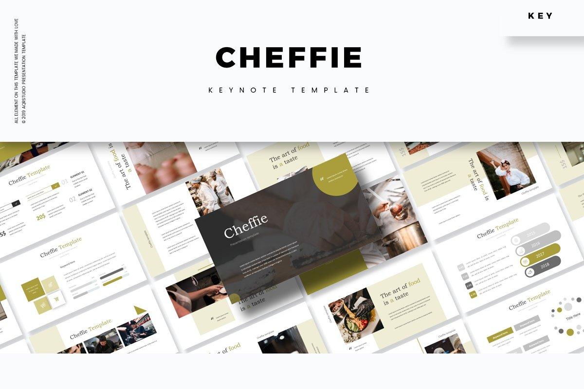 Cheffie - Keynote Template