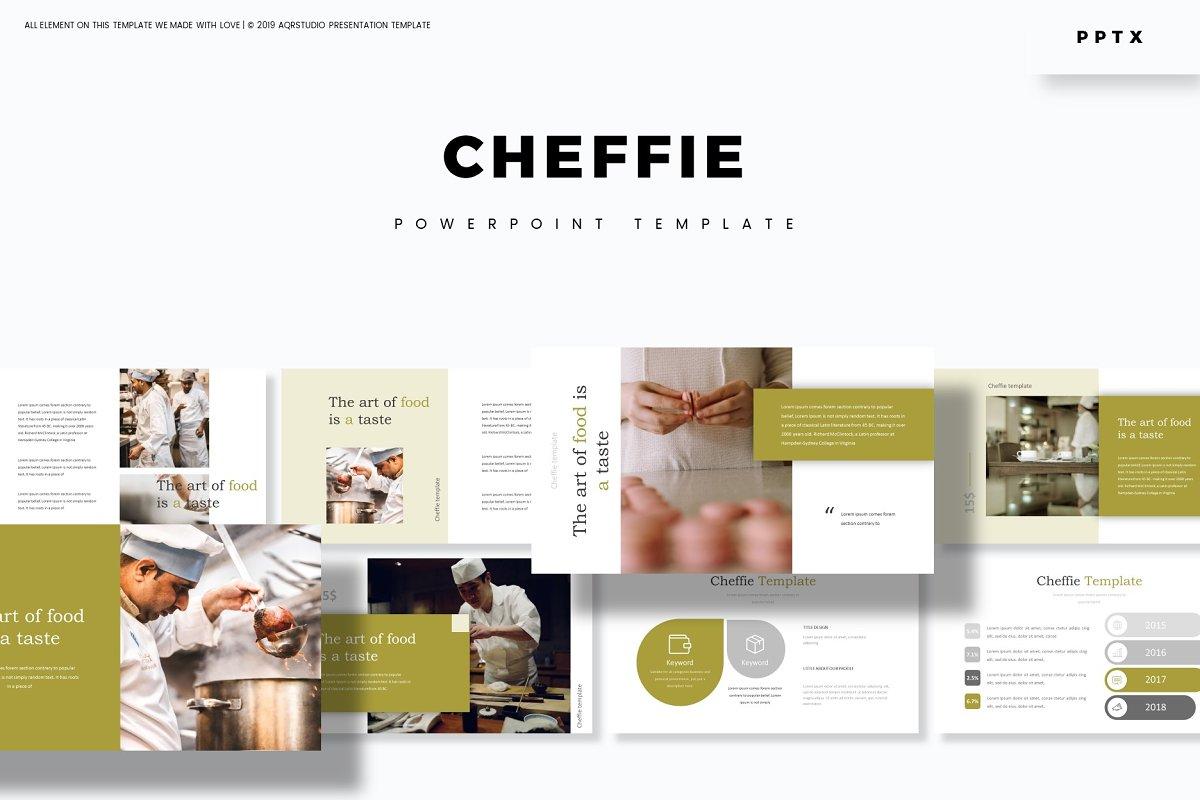 Cheffie - Powerpoint Template