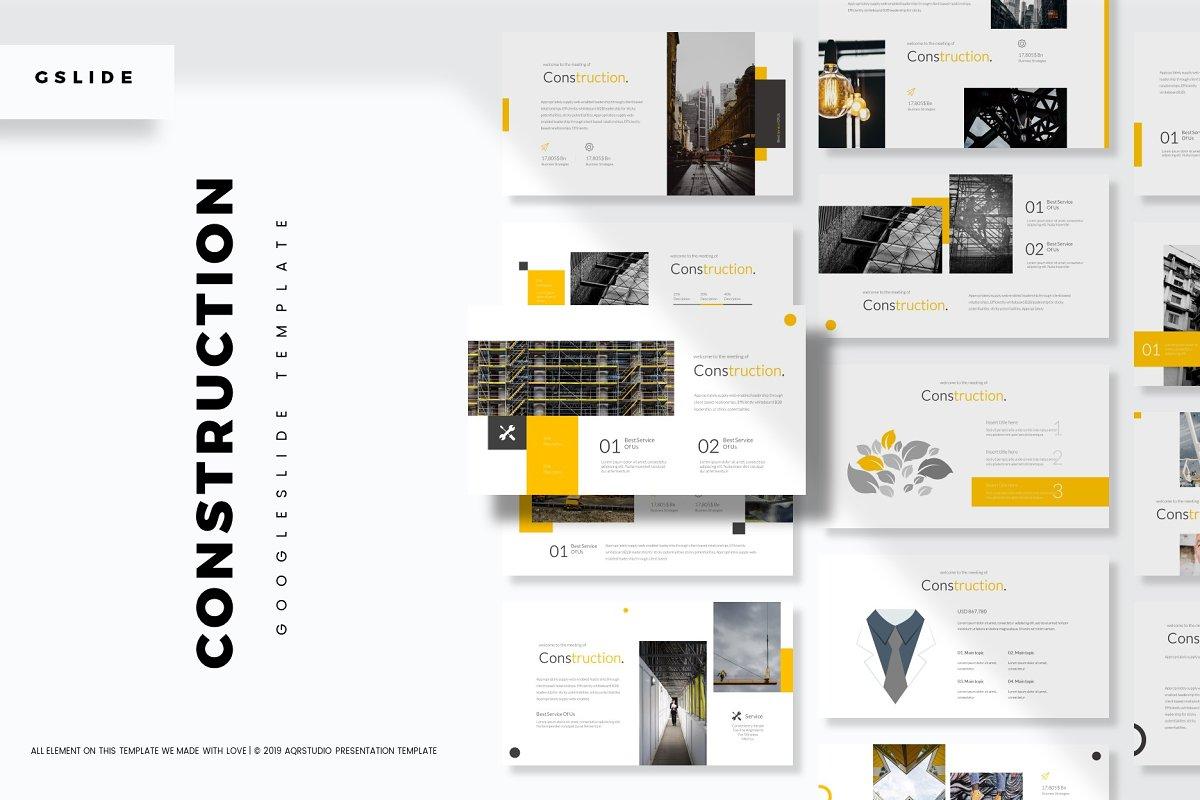 Construction - GoogleSlides Template